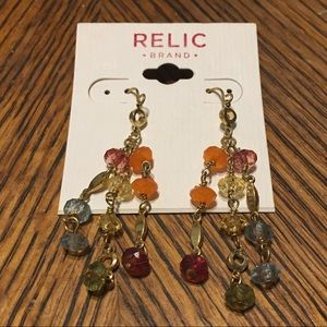 RELIC BY FOSSIL EARRINGS NWT